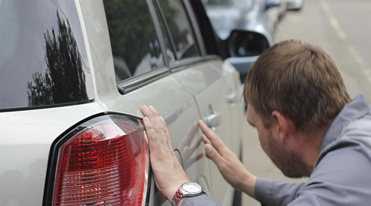Визуальный осмотр и оценка повреждений