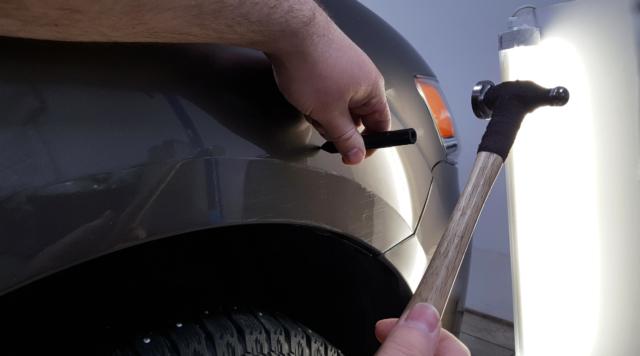 Подготовка деталей под покраску