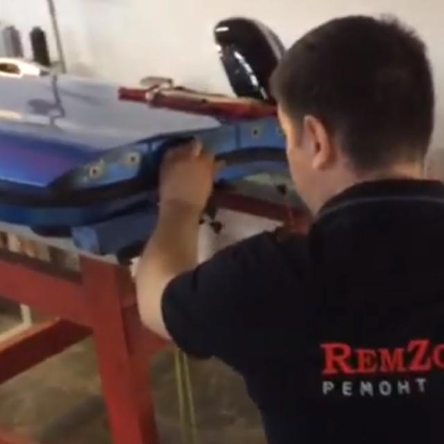 Видео процесса ремонта
