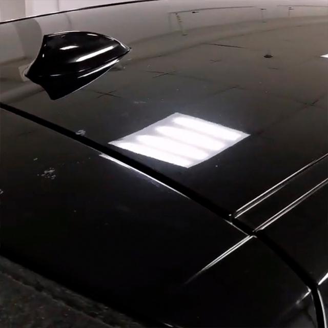 Ремонт вмятин без покраски в Москве на автомобиле BMW