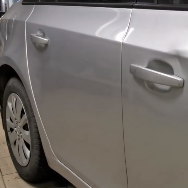 Ремонт вмятин без покраски в Москве на автомобиле Chevrolet Cruze