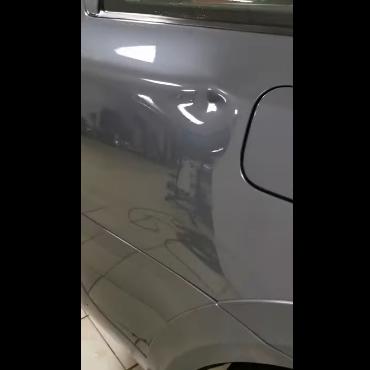 Ремонт вмятин без покраски в Москве на автомобиле Skoda
