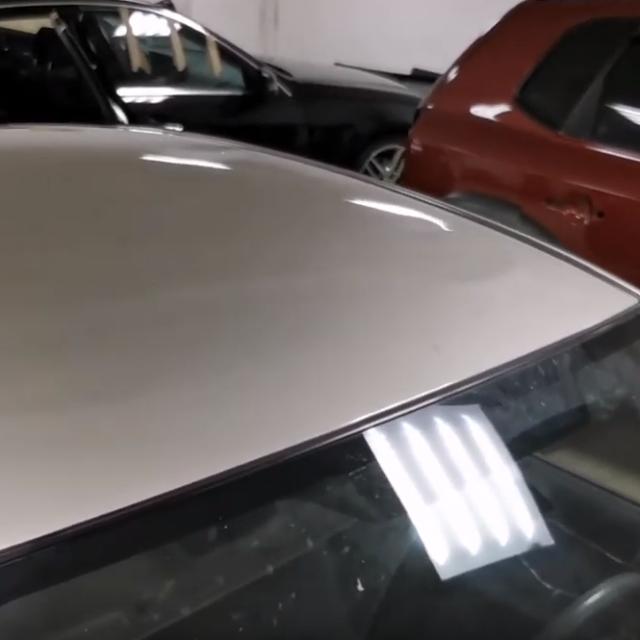 Ремонт вмятин без покраски в Москве на автомобиле SUZUKI