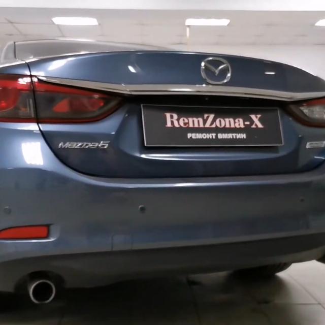 Ремонт вмятин без покраски в Москве на автомобиле Mazda 6