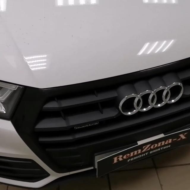 Ремонт вмятин без покраски в Москве на автомобиле Audi Q5