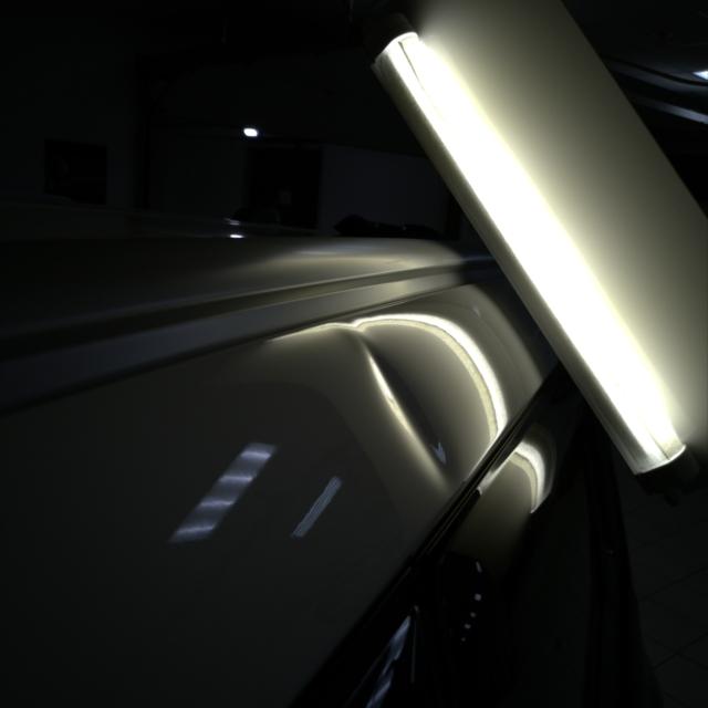 Автомобиль KIA Soul- Вмятина на крыше